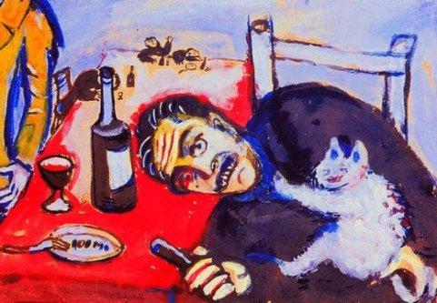 marc-chagall-man-at-table